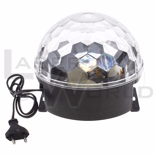 bola led full color audiorítmico, luces audiorítmicas, luz