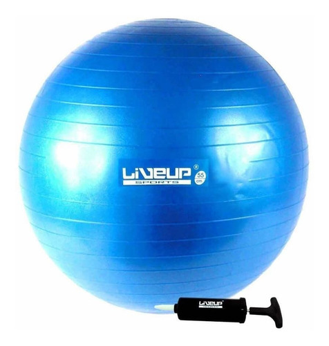 bola liveup 65cm anti estouro pilates exercicios