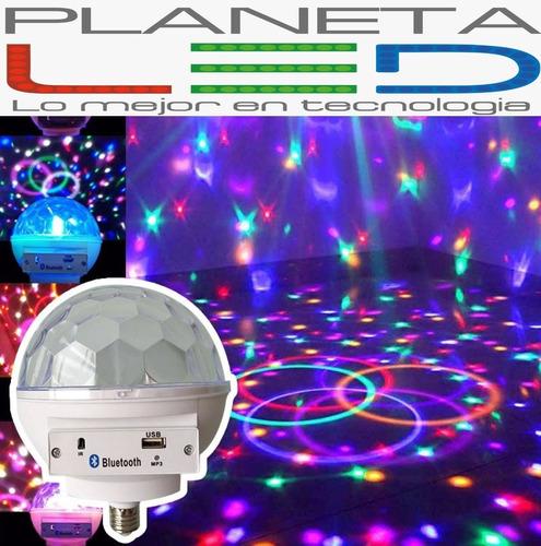 bola luces luz led bluetooth audioritmica ideal discoteca ba