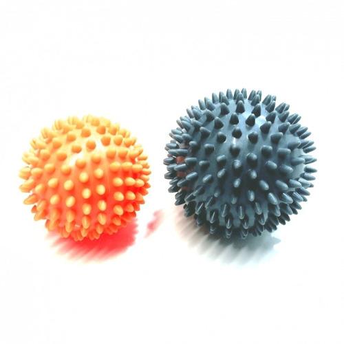 bola massageadora 2 duas massagem estímulo relaxamento pino