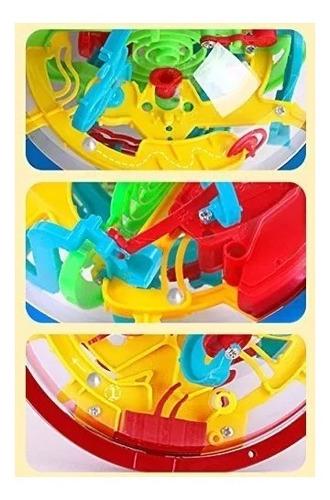 bola maze ball intellect 3d juego de puzzle mágico laberinto