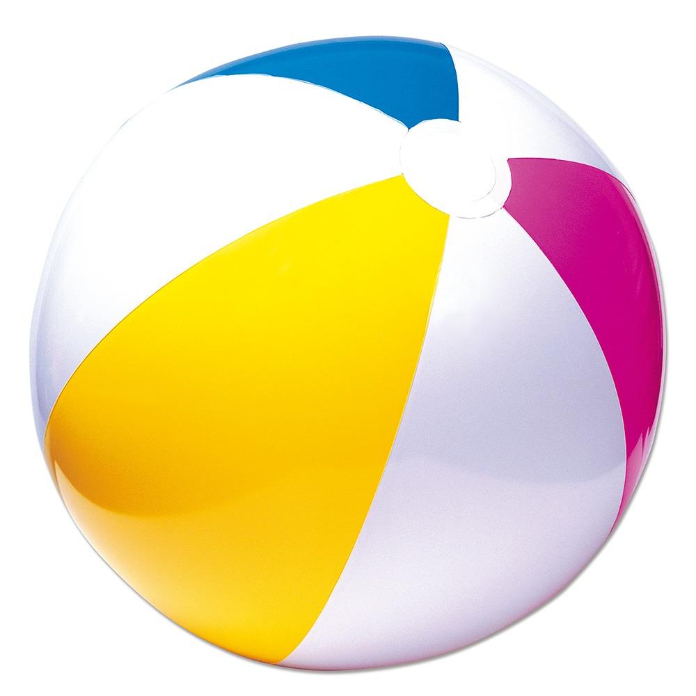 Bola media infantil inflavel vinil 61cm praia piscina for Bolas para piscina de bolas