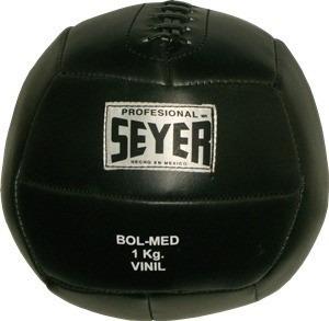 bola medicinal o balon abdominal seyer de piel de 2 a 5 kg.