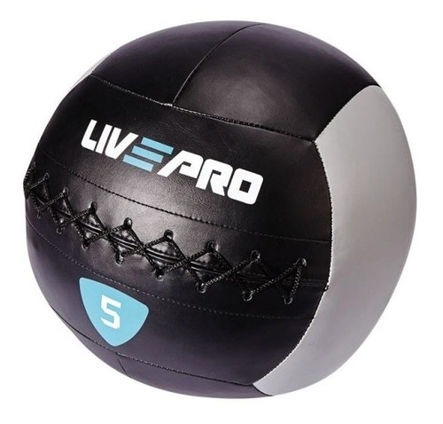 bola medicinal pared 3 kls. wall ball crossfit livepro