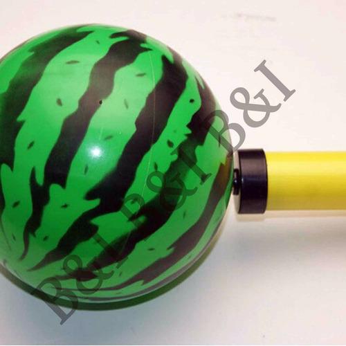 bola melancia inflável kit com 6 bolas