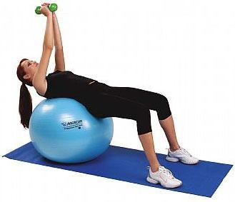 39176c82df Bola Mercur Professional Gym Ball P  Yoga Pilates 75cm + Dvd - R ...
