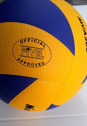 8a1249dfae Bola Mikasa De Voleibol Mva 200 - Original