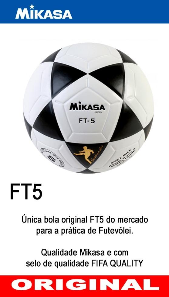 Bola Mikasa Ft5 Futevolei Original Mikasa Frete Gratis R 299 00 41b478cb10fd5