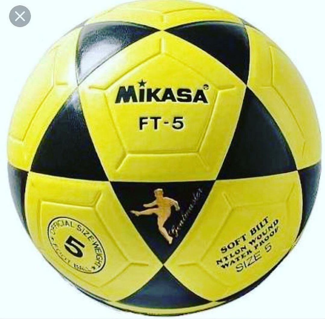 Bola Mikasa Ft5 Para Futmesa Teqball Futvolei Altinha - R  260 13d088e98f453
