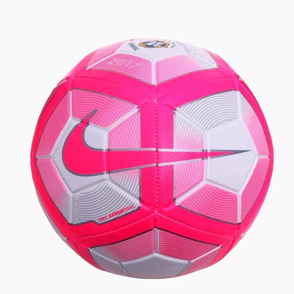 83e8c8df2a bola nike brasil strike rosa campo original. Carregando zoom.