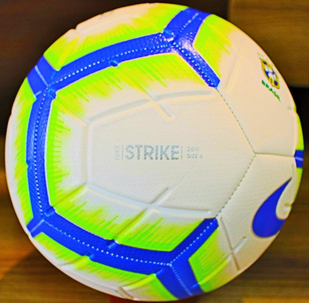 3172b1e343 bola nike brasileirão 2019 tamanho oficial de jogo. Carregando zoom.