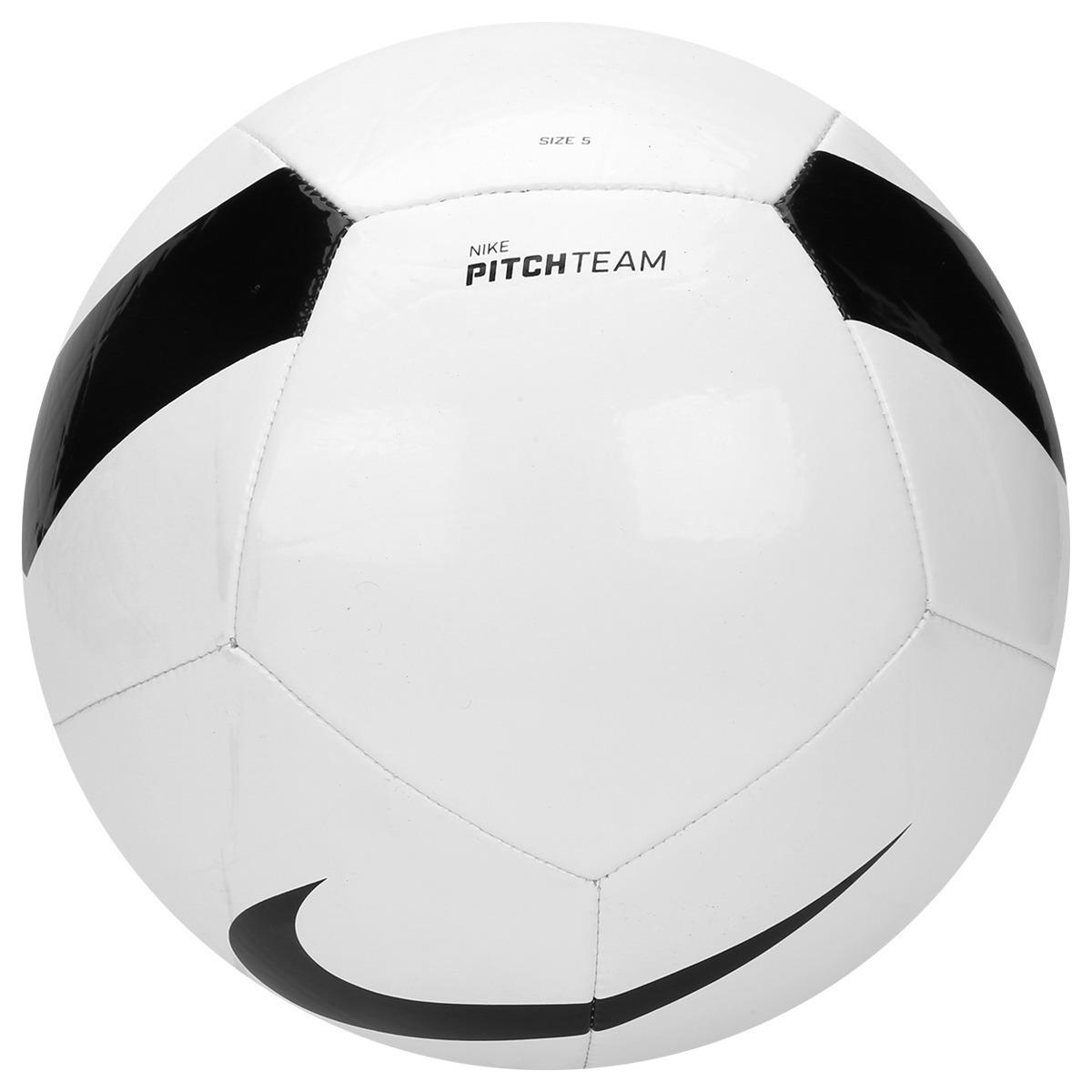 bola nike campo pitch team branca original - netfut. Carregando zoom. 0722b43a8e009