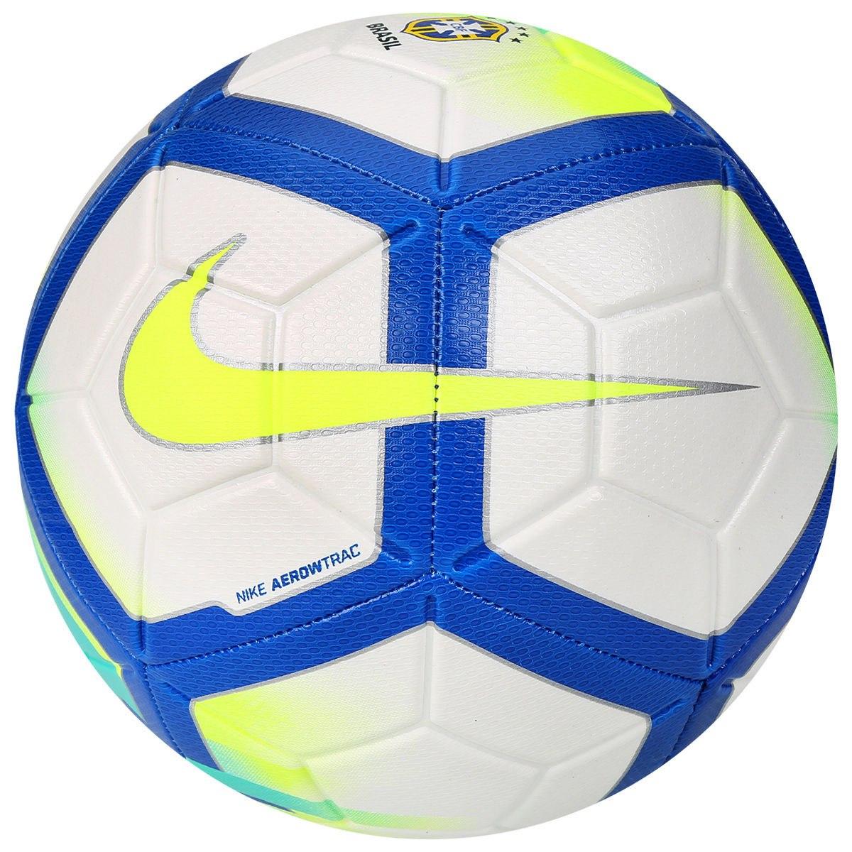 bola nike futebol campo strike cbf costura original sc3209. Carregando zoom. 37d0b4c3b072f