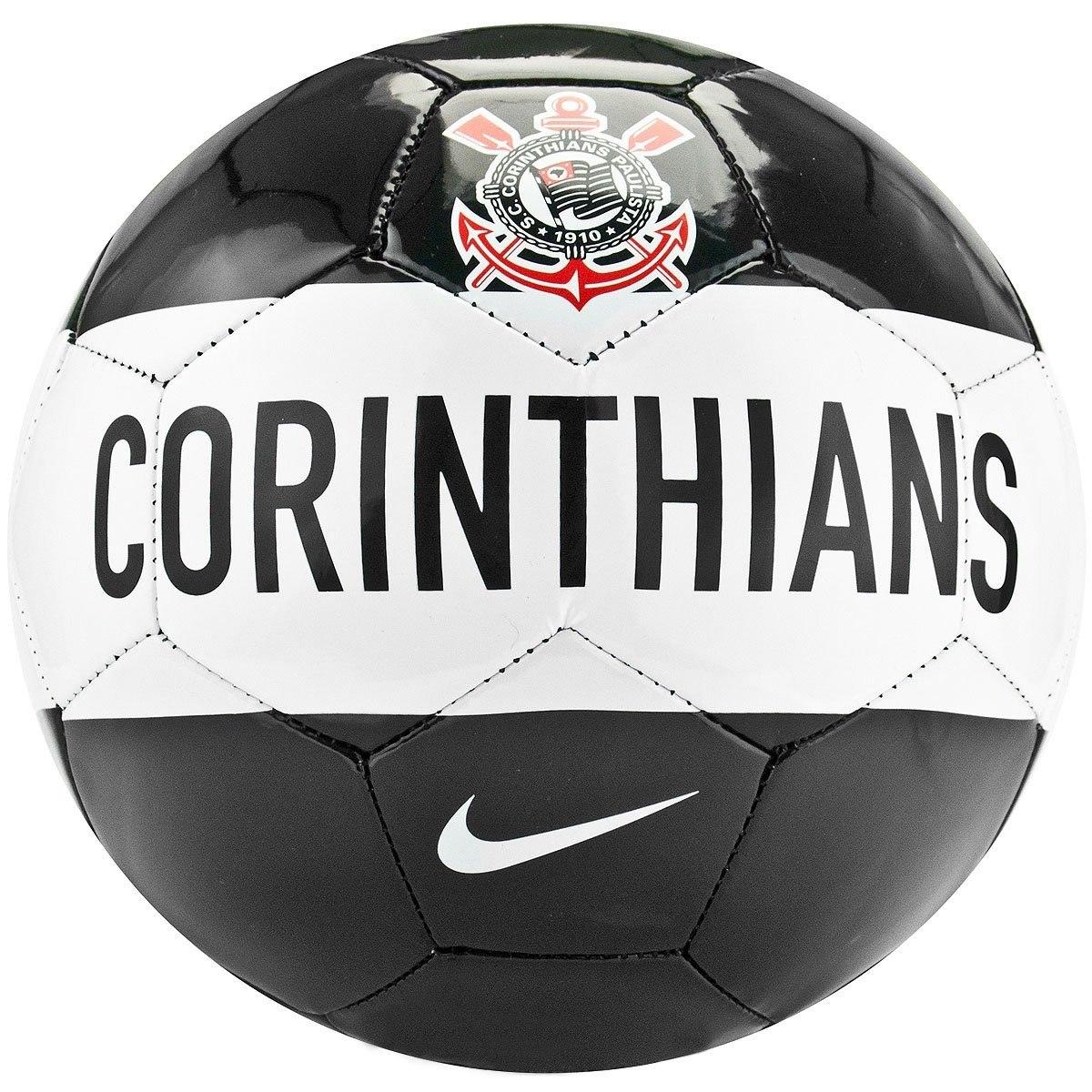 e052cbdef7 Bola Nike Futebol Campo Corinthians Bco Original Nike - R  120