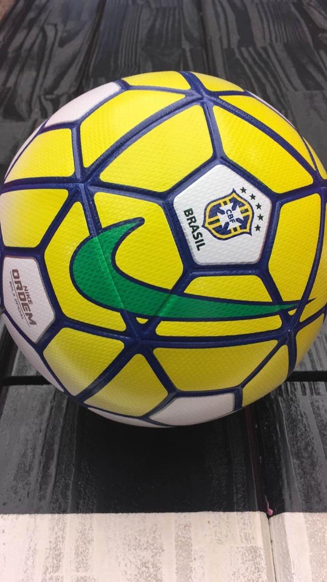 e4375d0cf1 bola nike ordem 3 profissional brasileiro 2016. Carregando zoom.