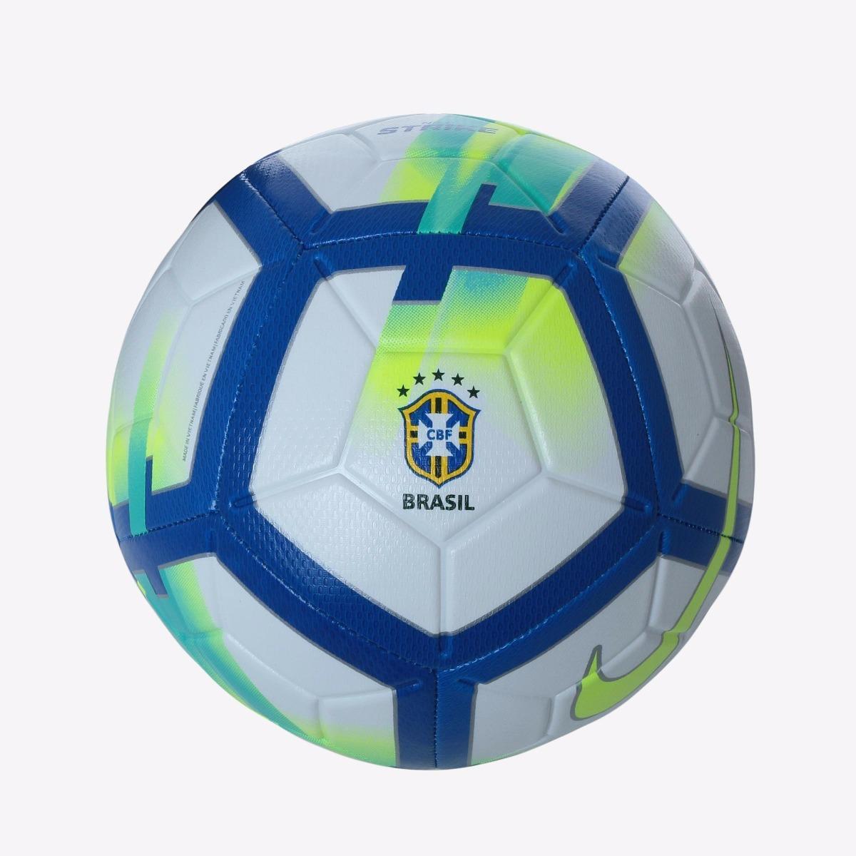 bola nike strike cbf campo brasileirão 2018 + nf. Carregando zoom. 2d6e92446a020