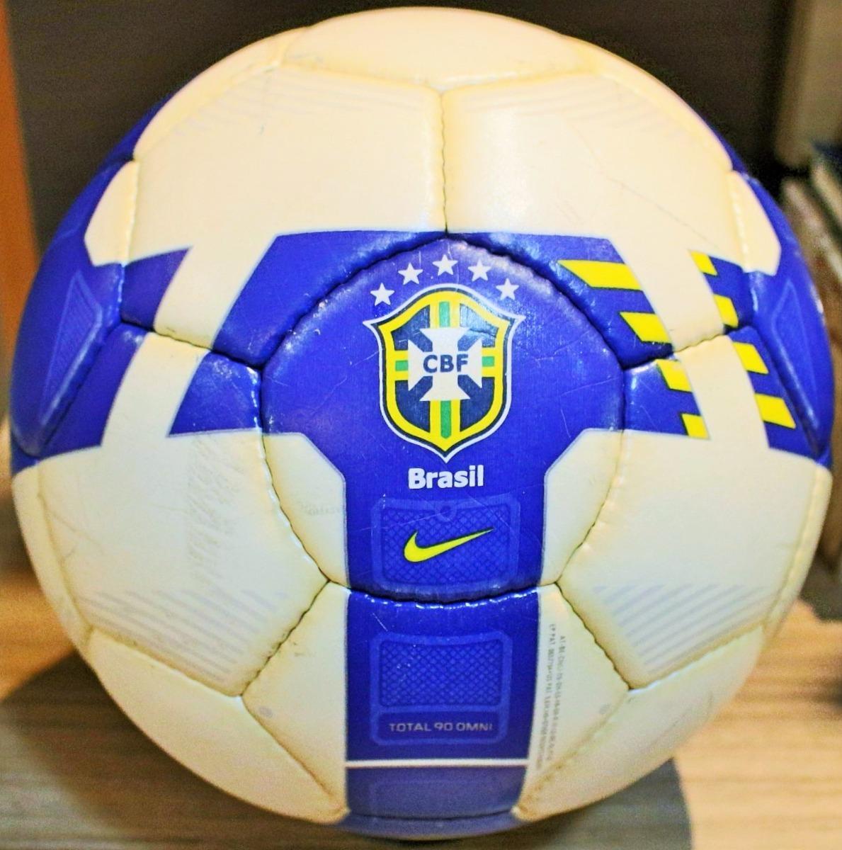 Bola Nike Total 90 Omni Oficial De Jogo Selo Fifa - R  299 529d3b674350d