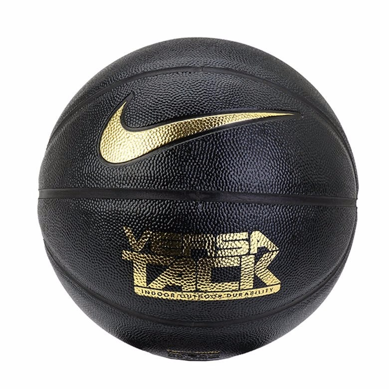 Bola Nike Versa Tack 7 De Basquete Preto Dourado Original - R  120 ... 012326e455a9d