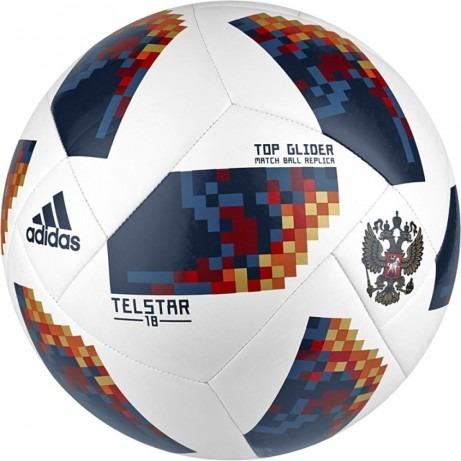 346b4a5281 Bola Oficial adidas Rússia Telstar Copa Do Mundo 18 Campo - R  119 ...