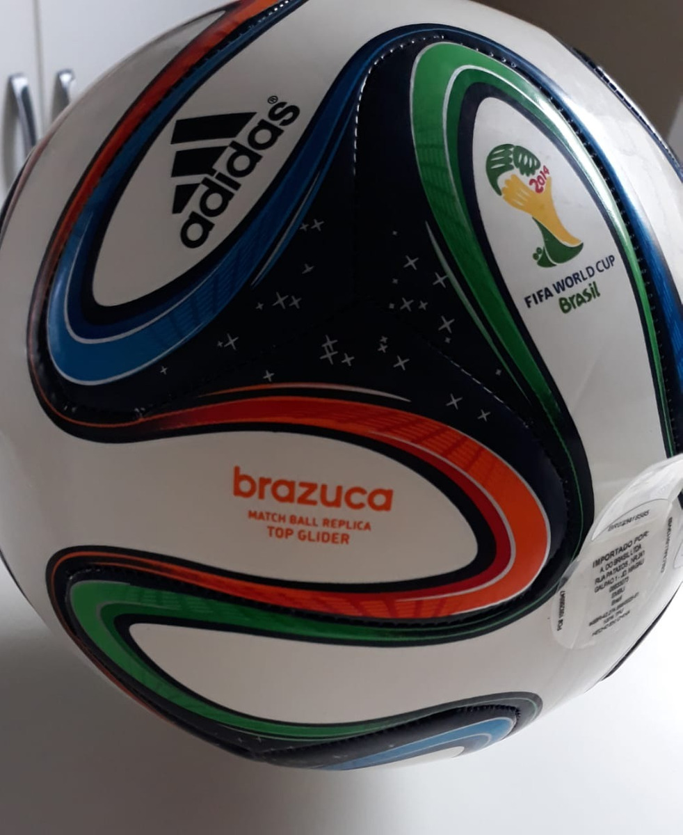 2b9b2728847ee bola oficial copa do mundo 2014 brazuca. Carregando zoom.
