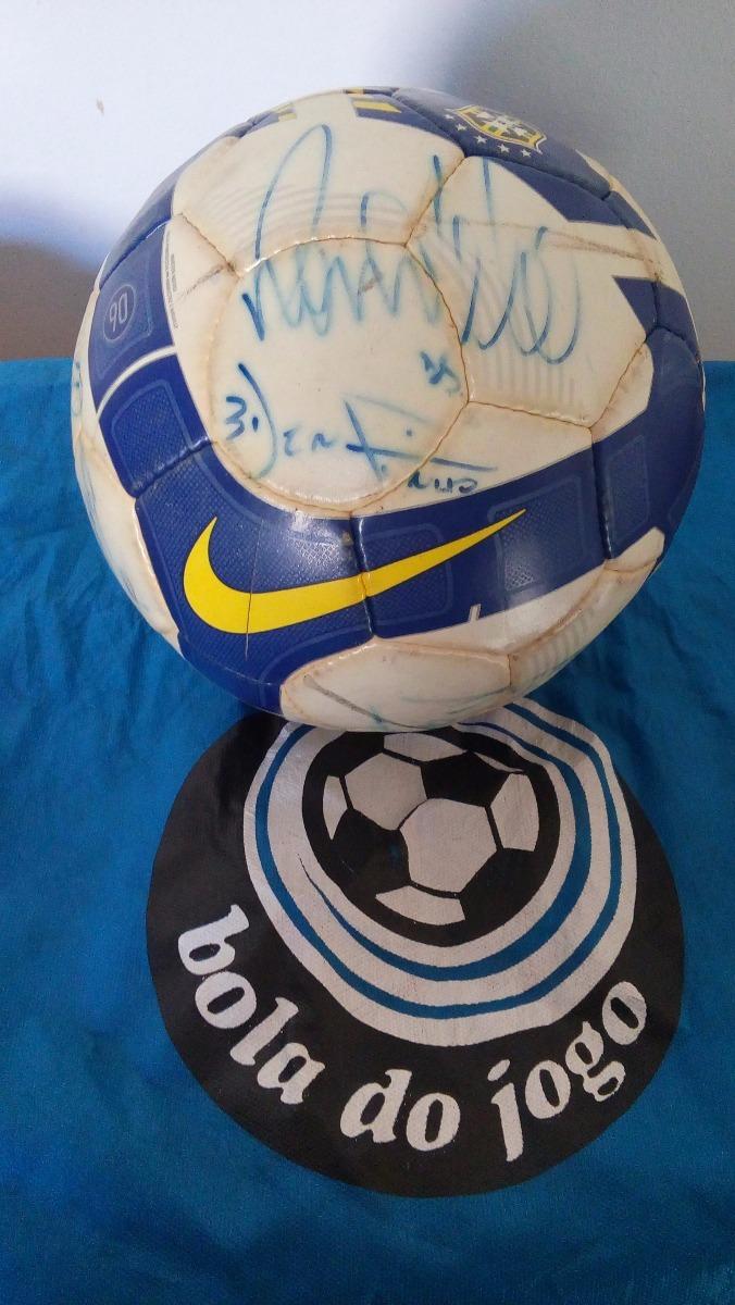 Bola Oficial Nike Autografada Jogo Do Corinthians X Grêmio - R ... f1869ef44254c