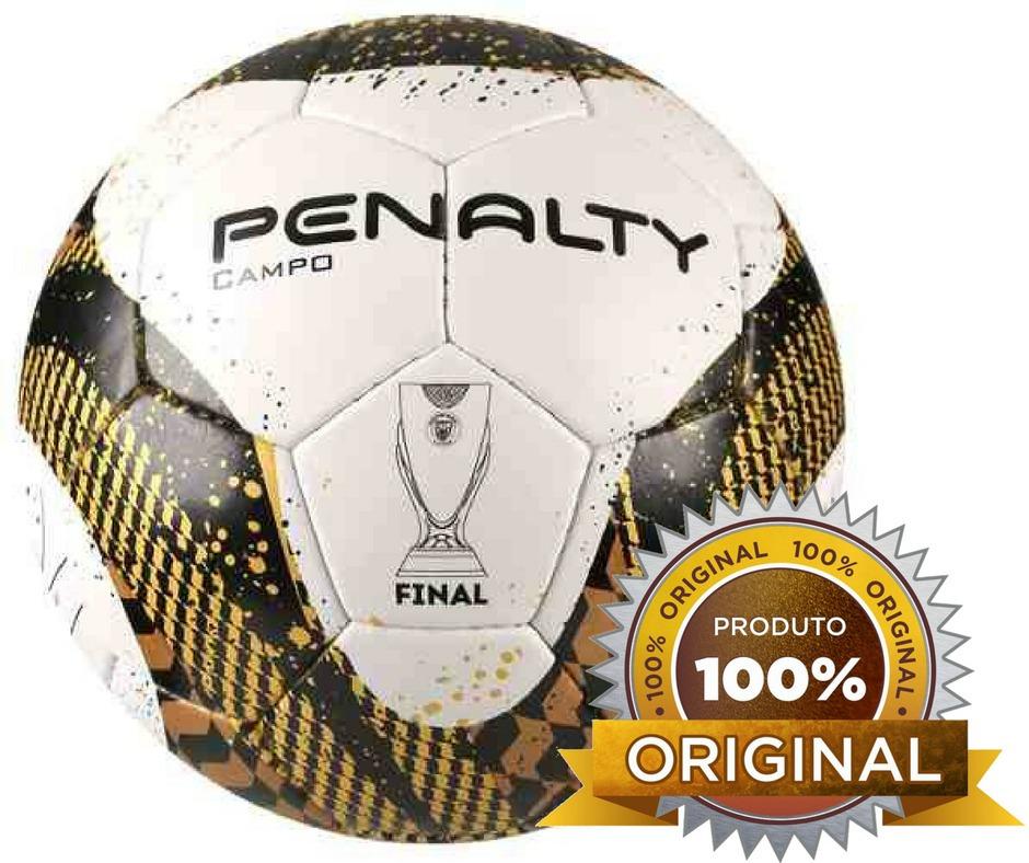 Bola Original Penalty Campo Final Fpf Com Costura Futebol - R  89 e7e62122a961c
