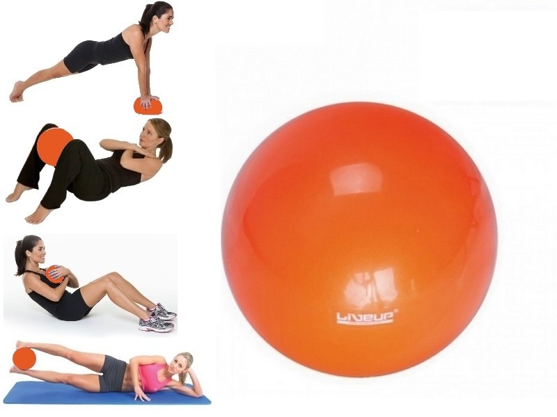bola over ball 25 cm liveup inflável pilates yoga overball. Carregando zoom. ecdc5b22271c3
