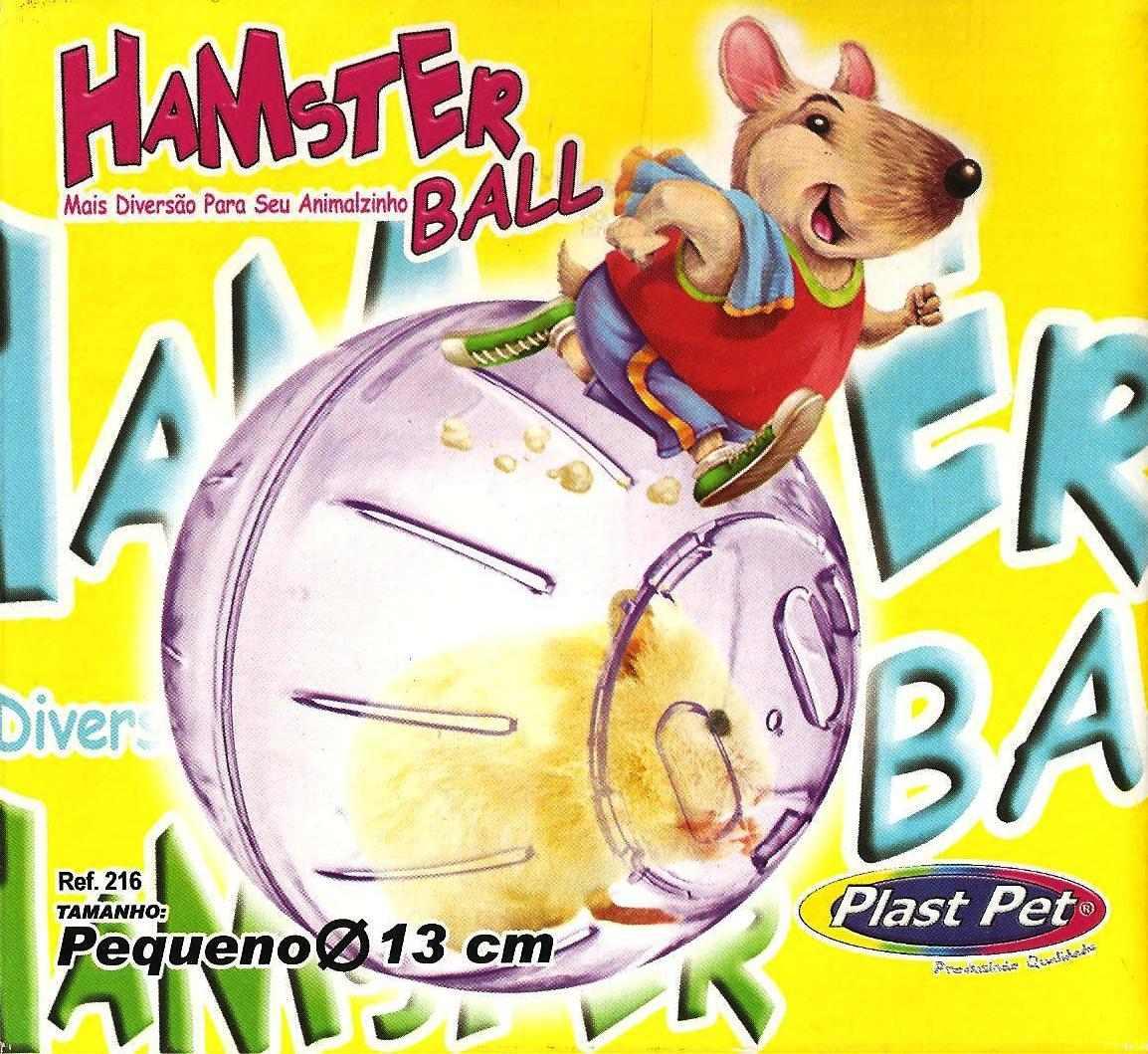 Bola P  Hamster. Hamster Ball. Dupla Função. Fixa Ou Solta - R  37 ... 4ae02f3b65356