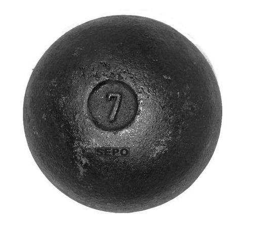 bola para arremesso em ferro fundido - 7 kg