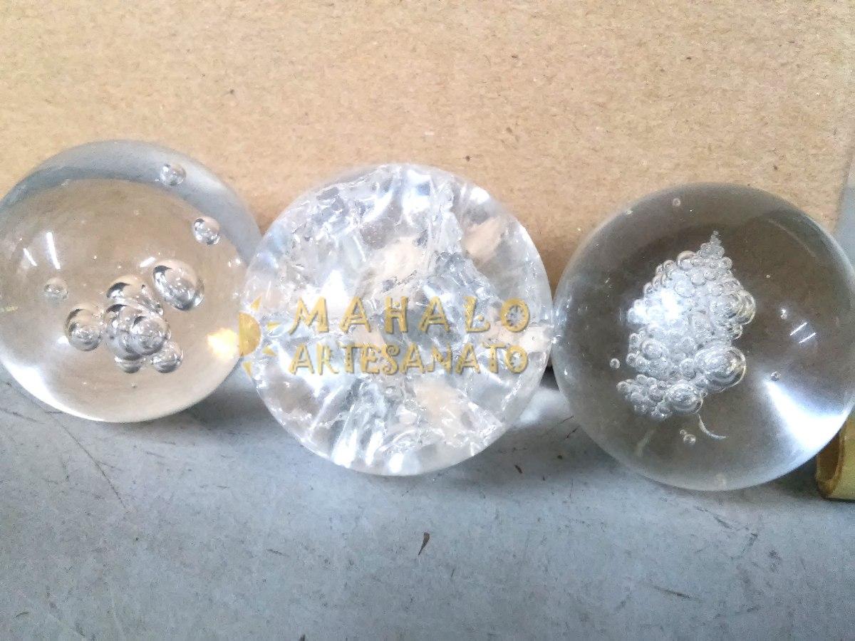 Bola para fonte de vidro decorativa cristal reposi o 5cm for Bolas de cristal decorativas