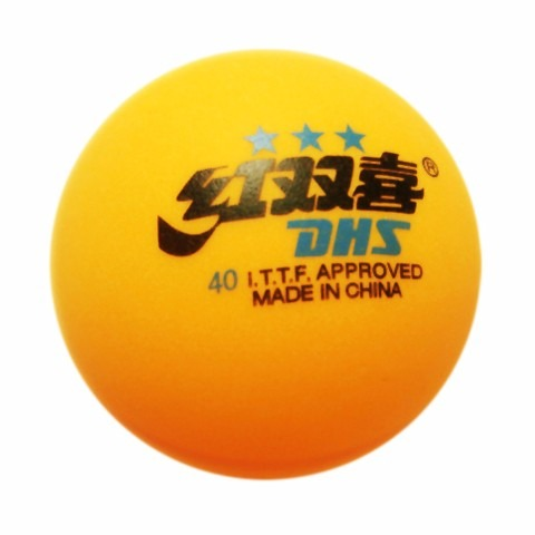 21c00fc3f Bola Para Tênis De Mesa Dhs 3 Estrelas