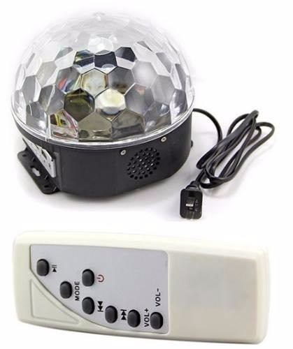 bola parlante mp3 luces sicodelicas magic ball