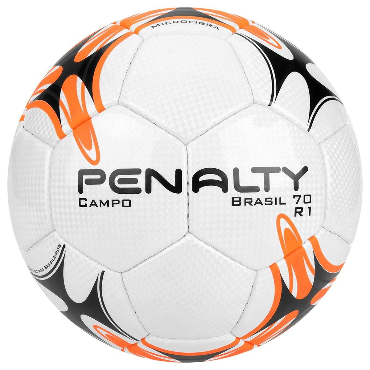 f40b6068e8a66 Bola Penalty Brasil 70 R1 Vii Campo Oficial + Bomba De Ar - R  89