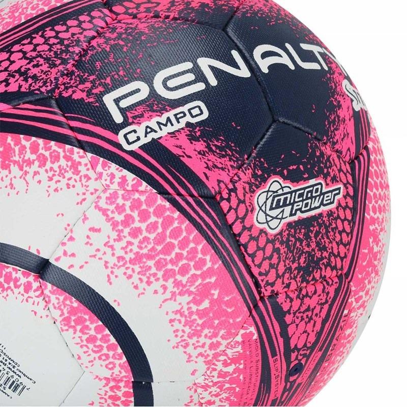 184cea3d4 bola penalty campo s11 r4 viii - branco e rosa. Carregando zoom.