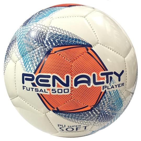 1d76f2511e Bola Penalty Futsal 500 Player Costurada Super Resistentent - R  79 ...