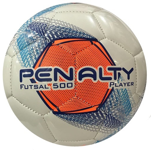 20293c4f23cad Bola Penalty Futsal 500 Player Costurada Super Resistentent - R  79 ...