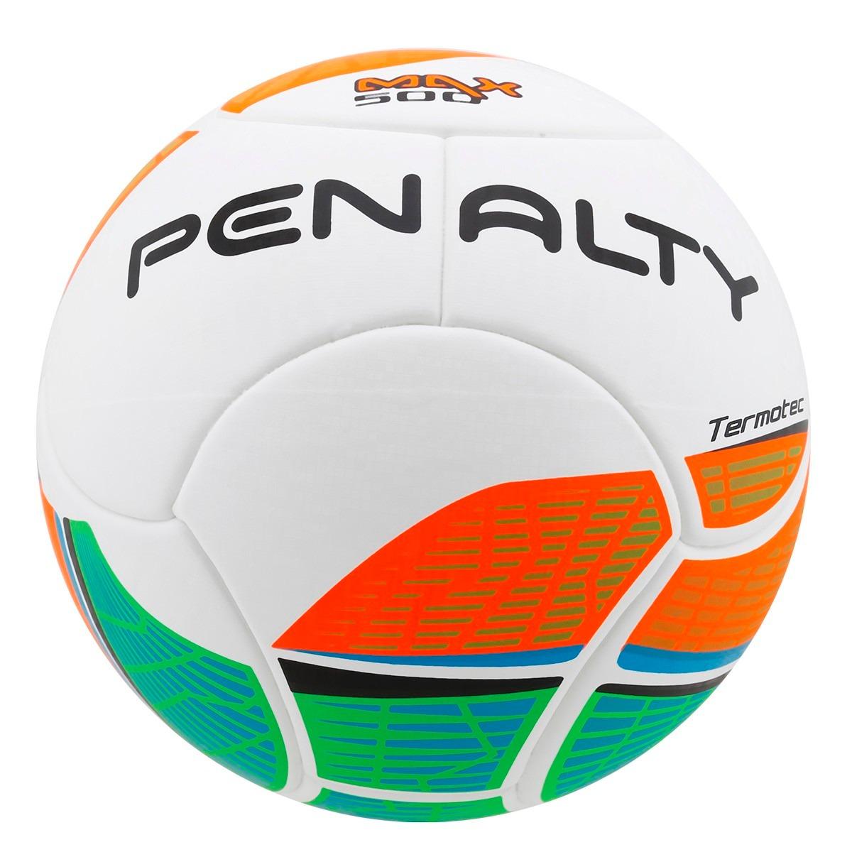bab529f23e Bola Penalty Futsal Max 500 Laranja - R  199