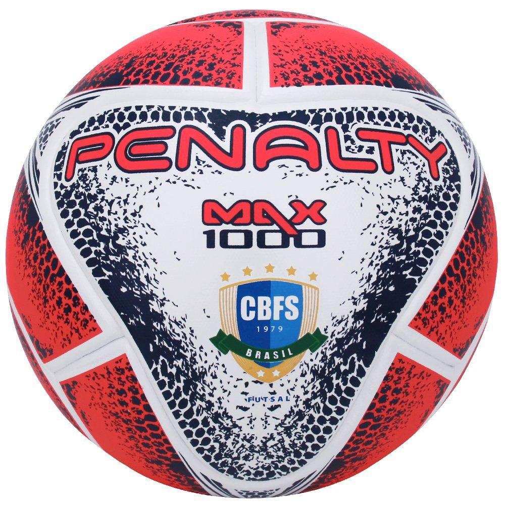 52dc29ede9 Bola Penalty Futsal Max 1000 Cbfs Fifa Original - R  219