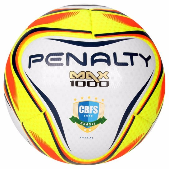 Bola Penalty Futsal Max 1000 6 Oficial - R  199 b21e0c5175433
