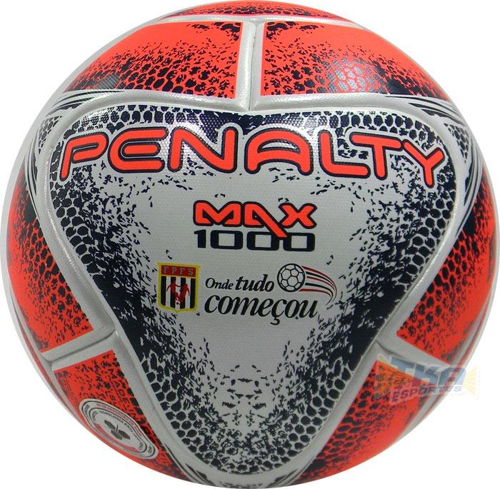Bola Penalty Futsal Max 1000 Termotec Fpfs Bco vrm - R  279 ad47634e746b5