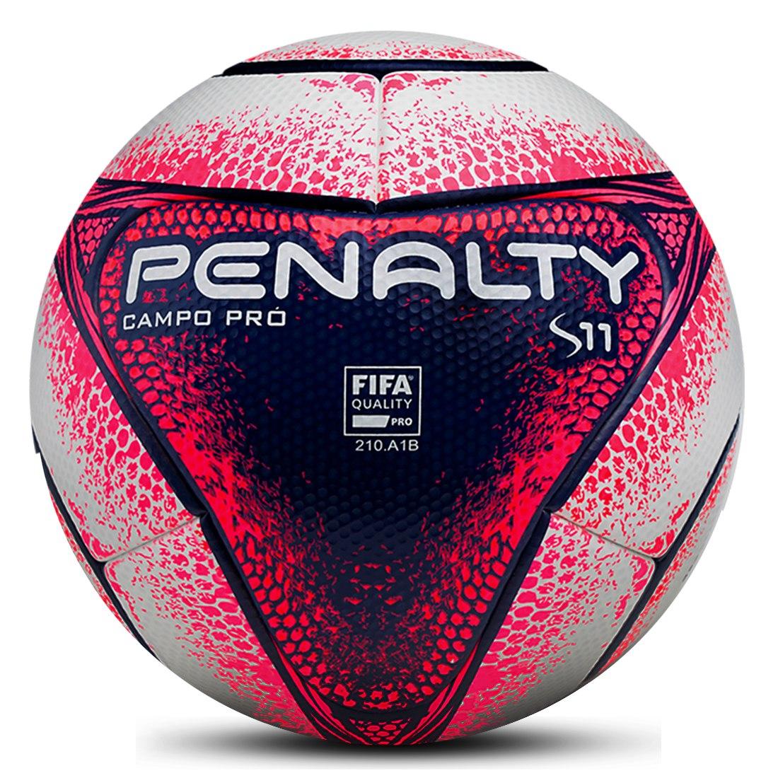 cfefebea1f Bola Campo Penalty S11 Pro Oficial Paulistão 2018 - R  359