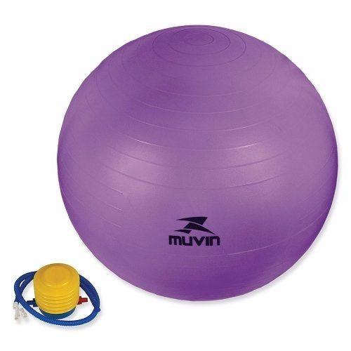 Bola Pilates 65cm Suiça Yoga+bomba Grátis Muvin-várias Cores - R  54 ... d1e2067d8a9ce