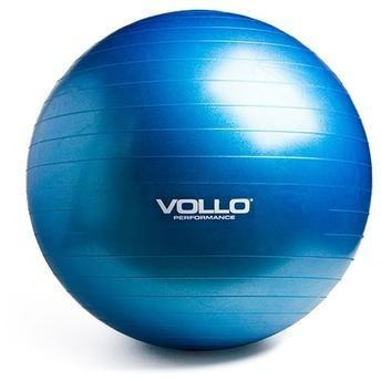 da2e5ce6c Bola Pilates Gym Ball Com Bomba 75cm Vp1036 Vollo - Blue - R  59