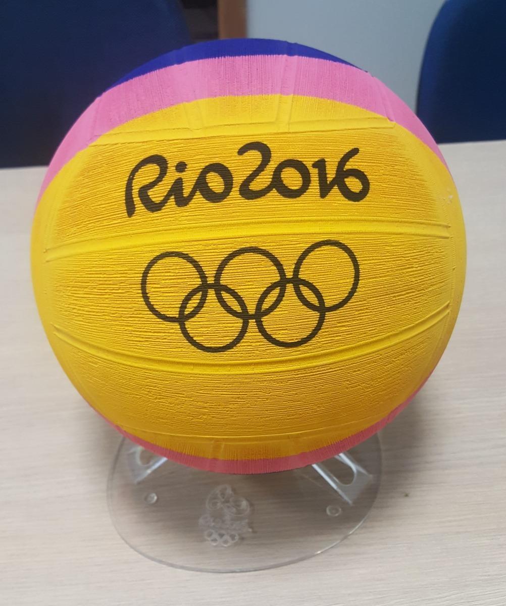88591d59e bola polo aquático official olímpiadas rio 2016 com suporte. Carregando  zoom.