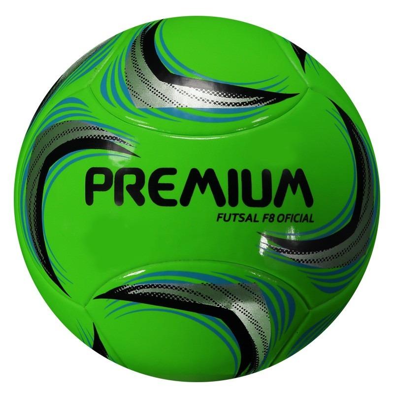 11afad2da4c39 bola premium s termo f8 futsal oficial verde. Carregando zoom.