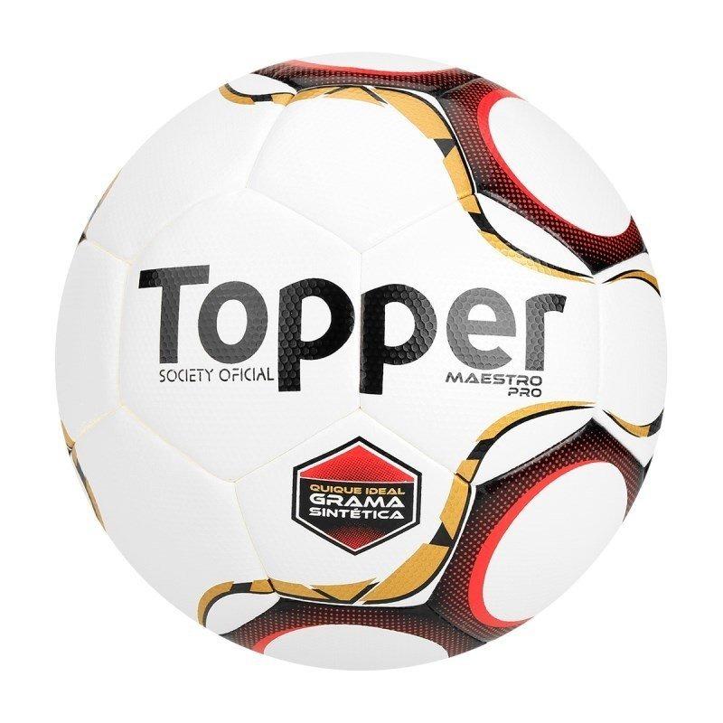 Bola Topper Maestro Pro Society Grama Sintética - Branco - R  148 e0c7963837123