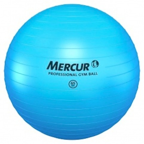Bola Professional Gym Ball Azul 65cm - Mercur - R  147 207658e0e7604