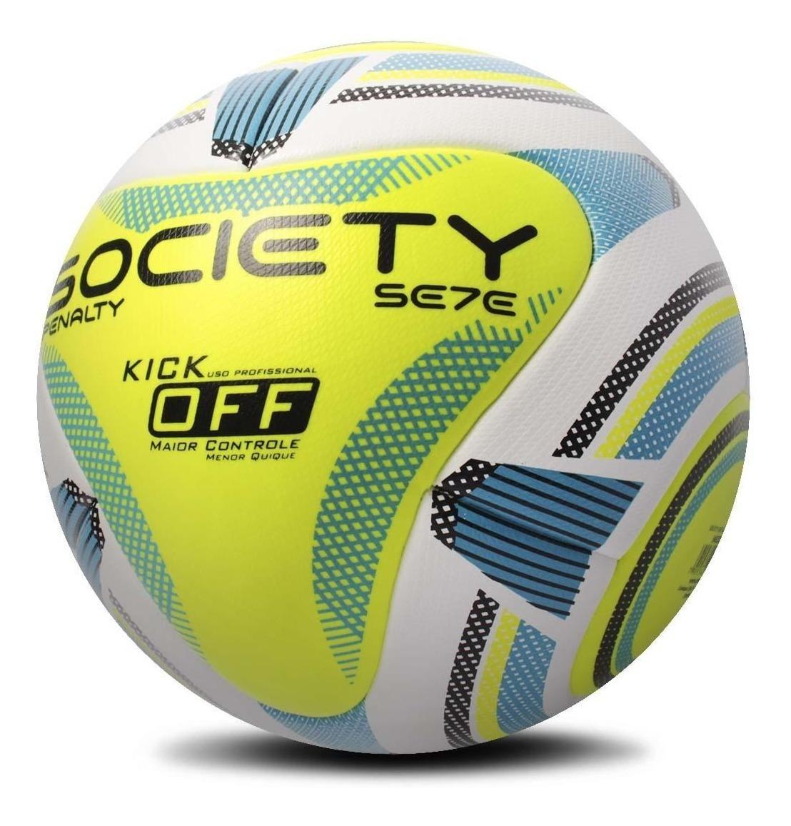 58e7a29dda Bola Society Penalty Sete R2 Kick Off Ix - R$ 155,90 em Mercado Livre