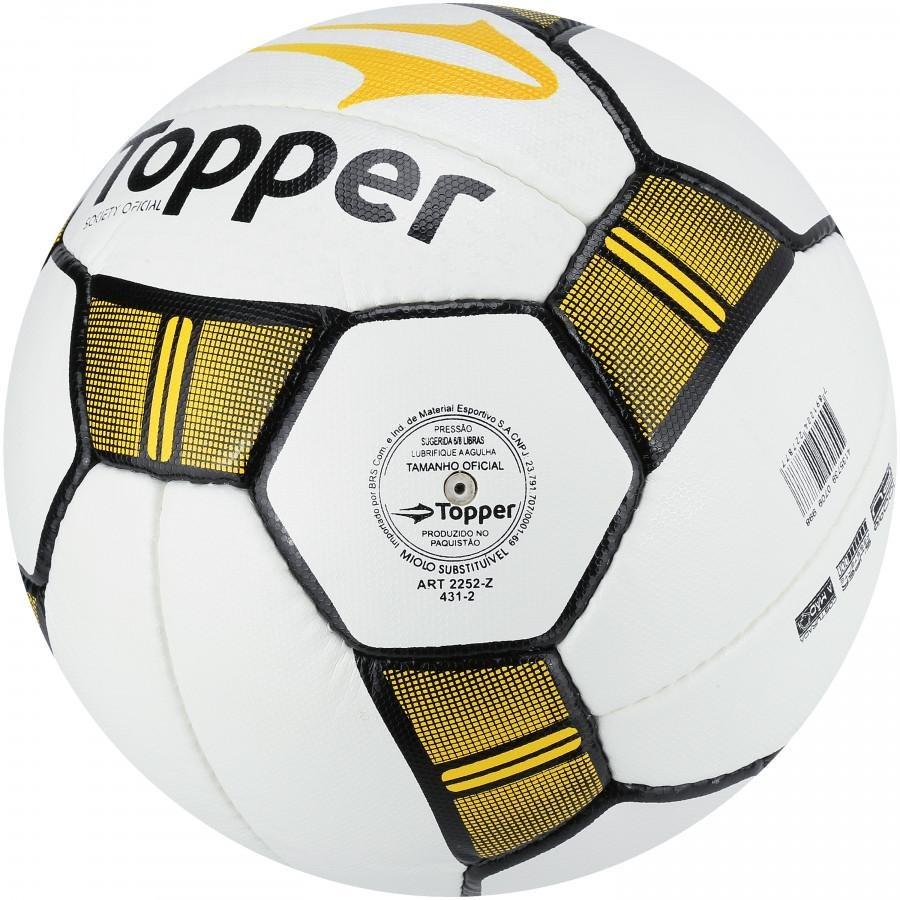 dcc05b74acbfb bola society topper maestro ii - cor branco amarelo. Carregando zoom.