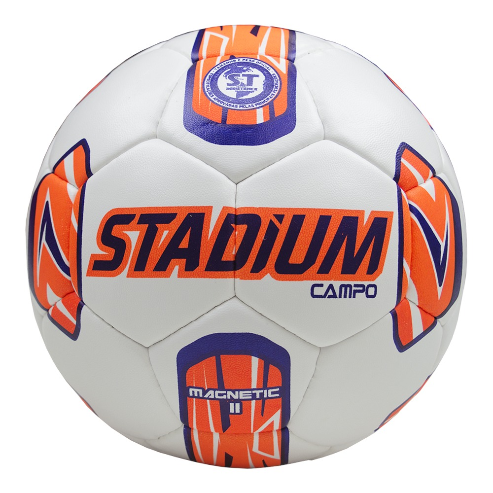 Bola Stadium Futebol Campo Magnetic Ii Costura- Bco-rx - R  54 ee9cff26a340d